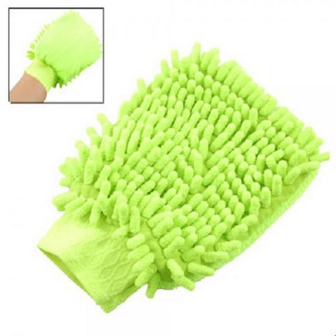 Car Table Elastic Cuff Mitt Glove Cleaning Tool Random Color