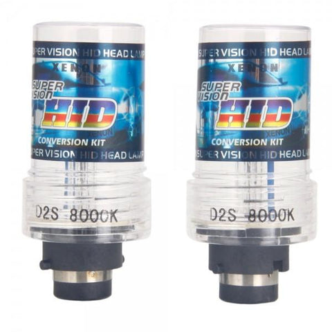 D2S 35W 8000K HID Xenon Car Lights Bulbs (Pair)