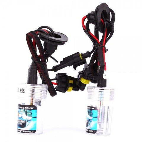 H1 55W 3000K HID Xenon Car Lights Bulbs (Pair)