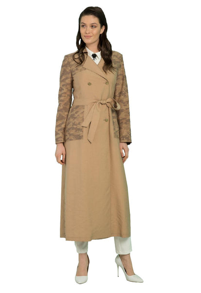 Long Comaflash Classic Long Trench Coat