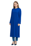 Crew Neck Long Tunic