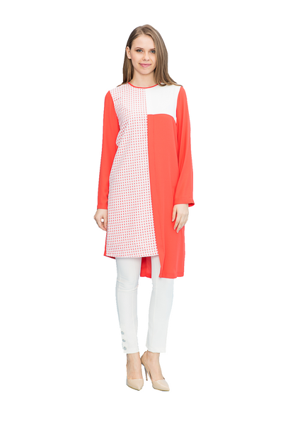 Asymmetrical Dress Tunic
