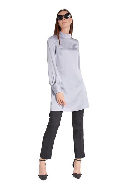 Pleated Collar Tunic
