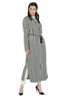 Striped Light Jilbab Tunic
