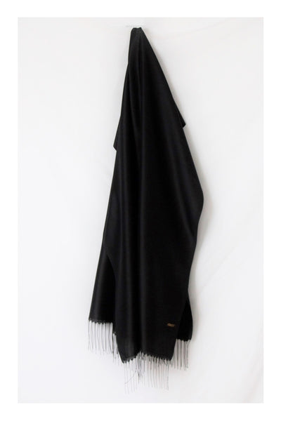 Black Label Taffeta Scarf Hijab