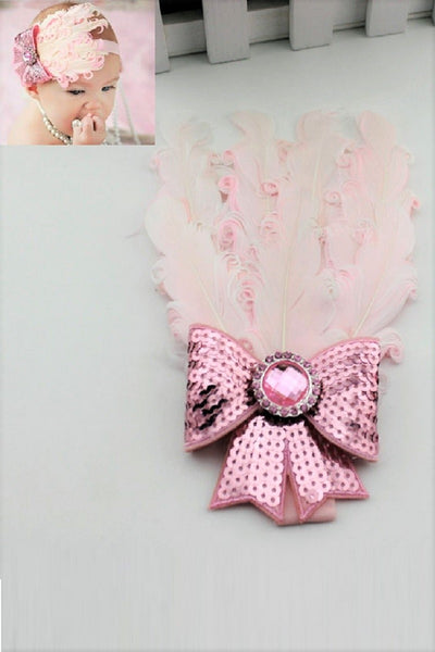 Feather Baby Girls Headband