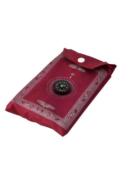 Pocket Waterproof Prayer Mat with Compass