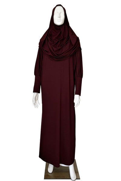 Islamic Prayer Dress & Hijab Set