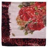 Roses Square Scarves Hijab