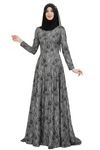 Tailored Long Sleeves with Tail Lace Dress