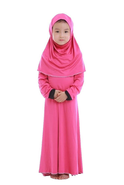 Frozen Girls Dress Abaya & Hijab