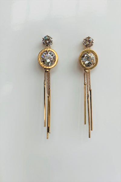 Glamorous Me Gold plated Earrings