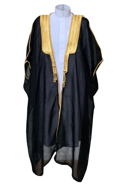 Boys Traditional Black Bisht