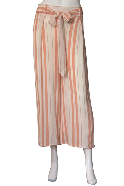 Peach & Cream Capri  Pants