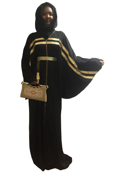 Butterfly Goldie Abaya