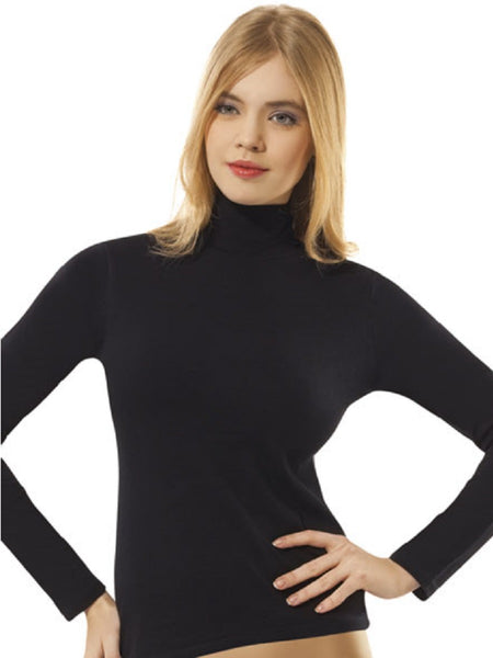 Long Sleeve Turtleneck Essential Tee