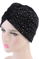 Crystal Velvet Turban
