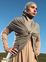 Downtown Hijabi Capstylez One piece hijab