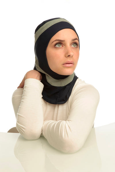 Capsters Muslim Runner Sports Hijab for Women and Girls
