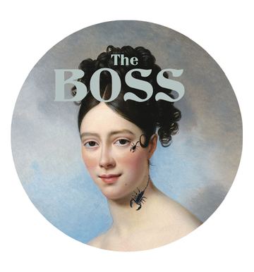 The boss - Sticker
