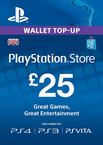 PlayStation Network £25