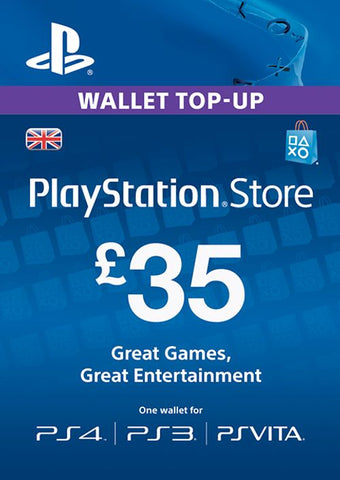 PlayStation Network £35