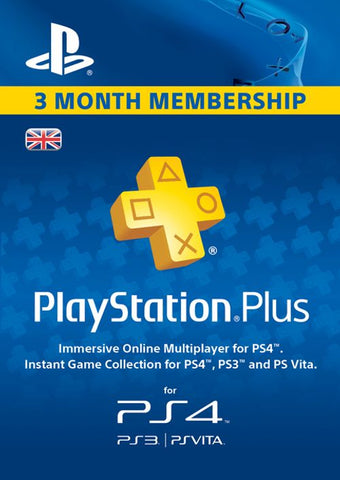 PlayStation Network Plus 90 Day