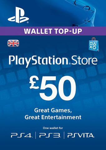 PlayStation Network £50