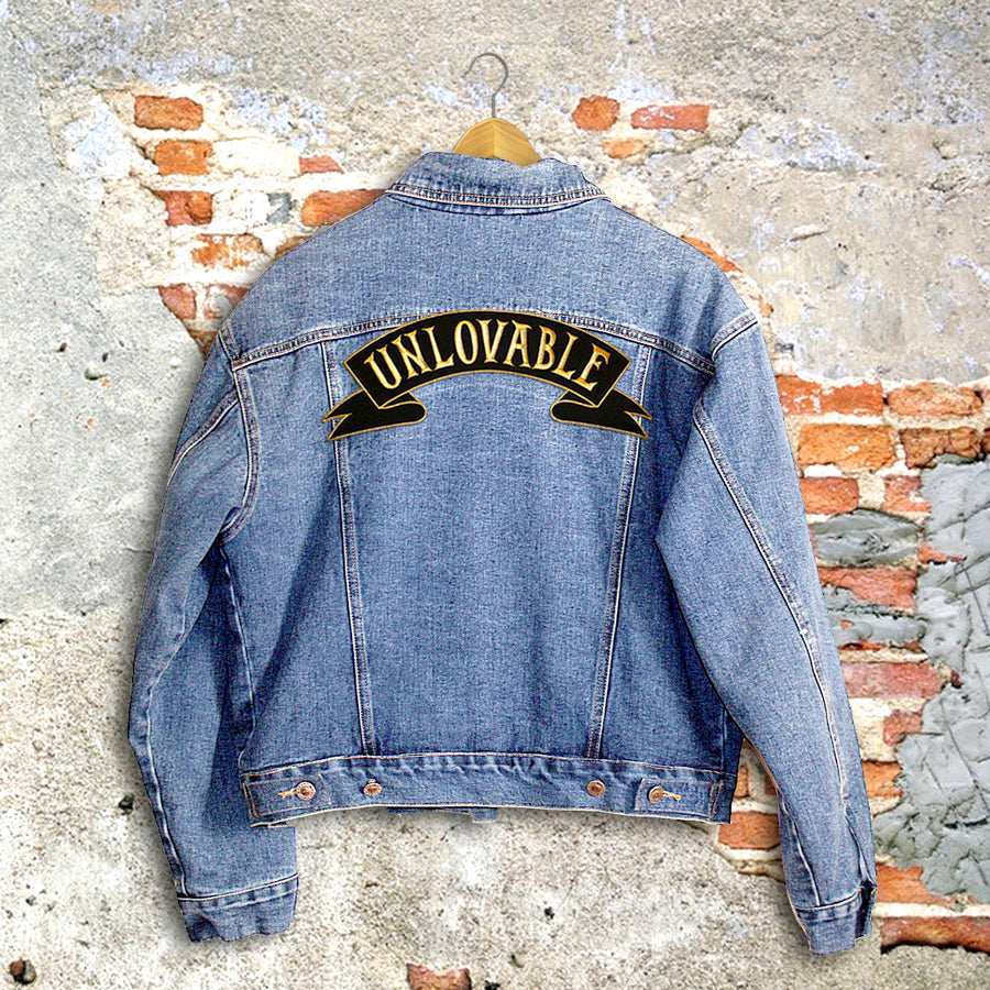 UNLOVABLE DENIM JACKET (FUR LINING / SMALL)