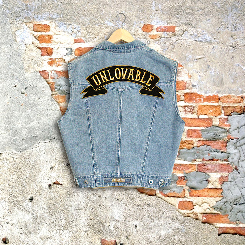 Unlovable Denim Vest