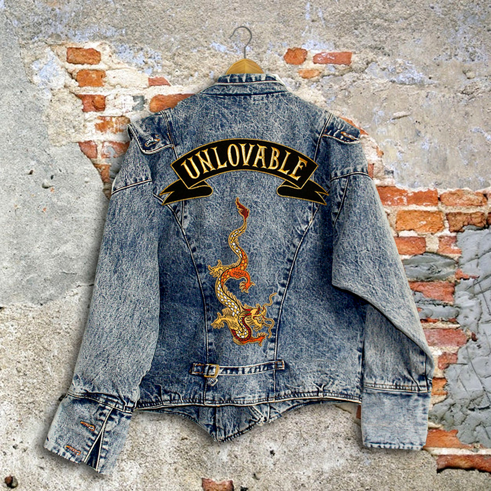 UNLOVABLE DENIM JACKET (RETRO EDITION)