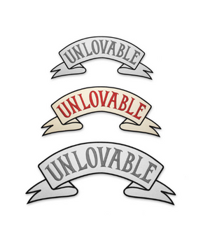 Medium Unlovable Back Patch