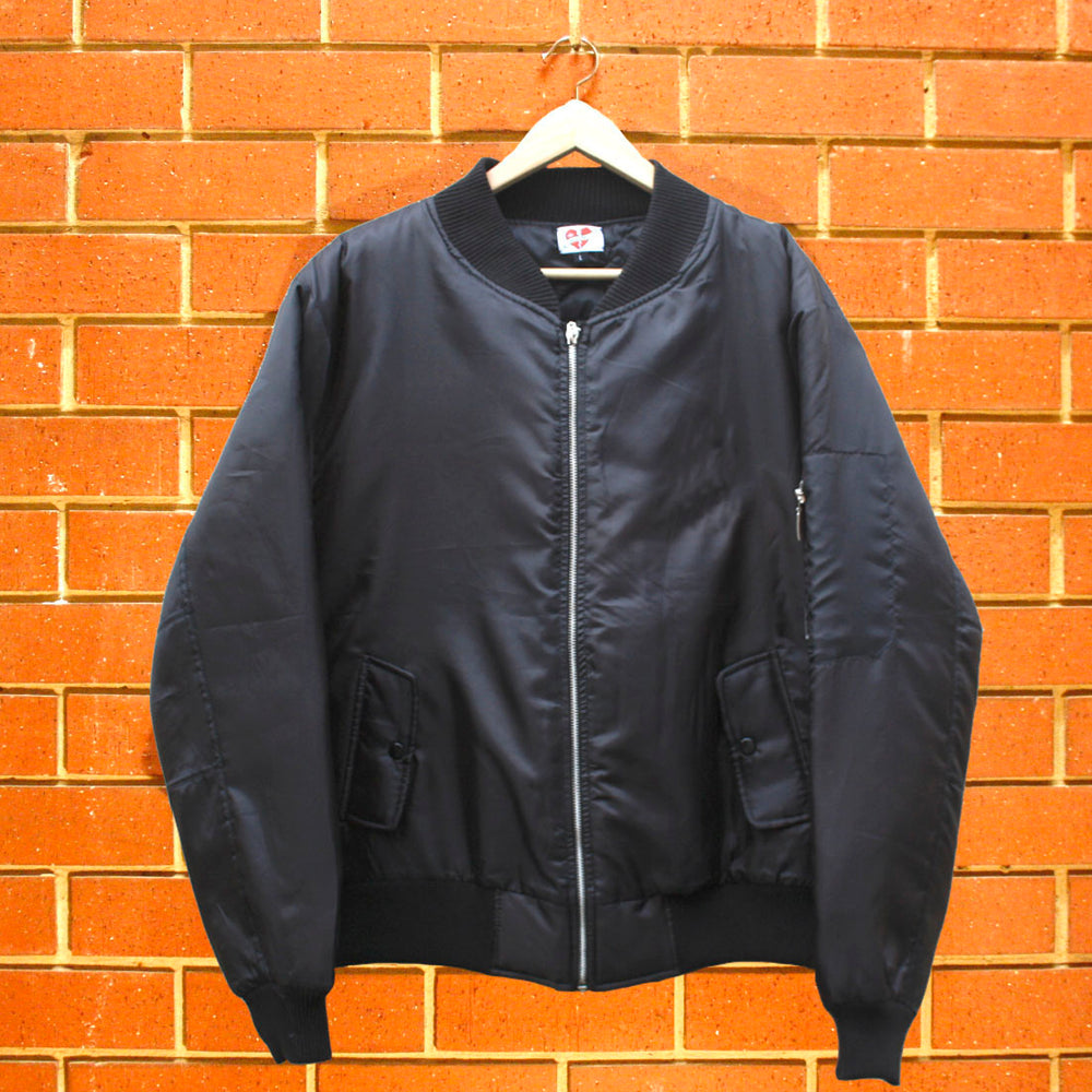 BORN SINNER UNISEX BOMBER JACKET