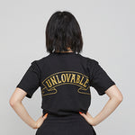 Unlovable Short Sleeve Tee BLACK