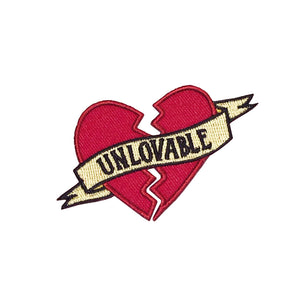 Unlovable Heart Patch