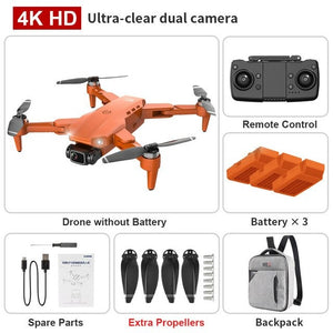 New L900 Pro 4K HD Dual Camera with GPS 5G WIFI FPV
