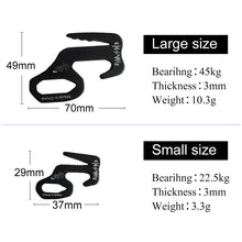 Load image into Gallery viewer, 2pcs Tent Hook Aluminum Alloy 9 Shape