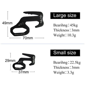 2pcs Tent Hook - Aluminum Alloy 9 Shape