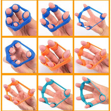 Load image into Gallery viewer, Finger resistance bands rubber bands