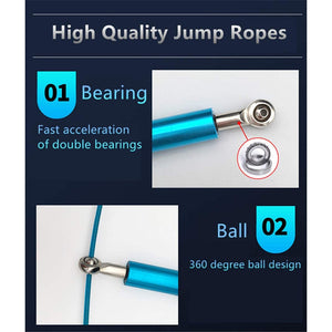High Quality Steel Bearing Jumping Rope
