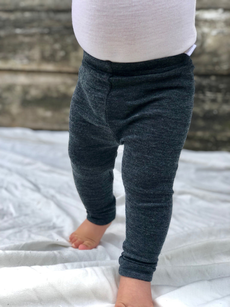 100% MERINO WOOL BABY LEGGINGS BABIES vendor-unknown