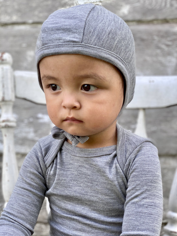 PILOT HAT BABIES Simply Merino Clothing Co