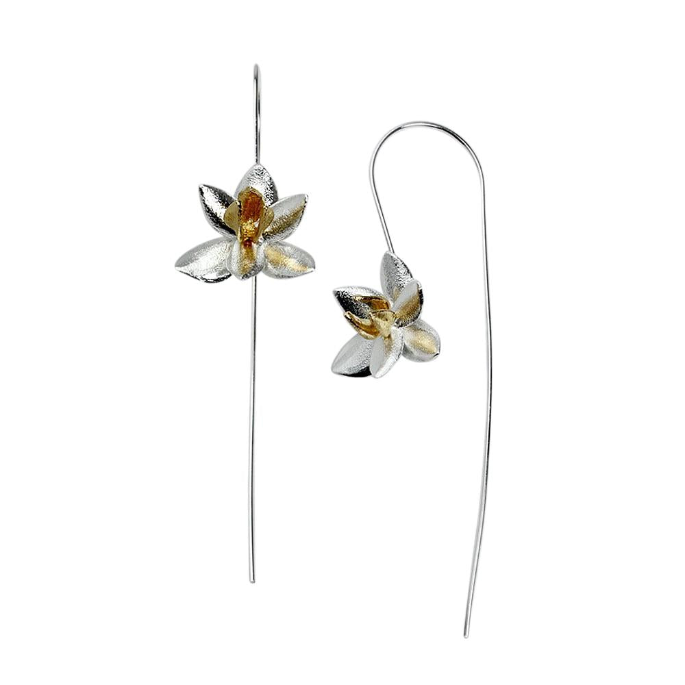 Dainty Blossoms Hook Earrings