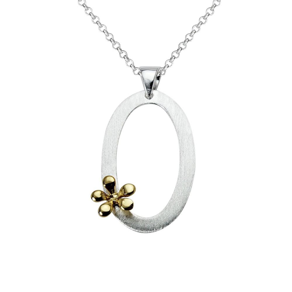 Oval Wreath Necklace