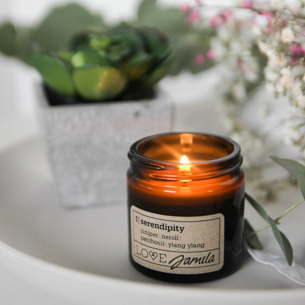serendipity travel candle