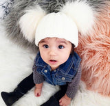 Kisumu Hat with Fur Pom