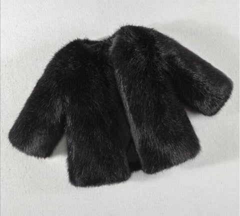 Morocco Faux Fur Coat
