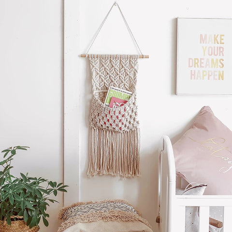 Fringe Macramé Dream Catcher
