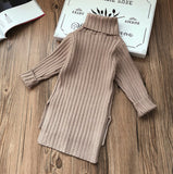 Nottingham Camel Turtleneck Tunic