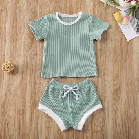 Compton 2 Piece Set in Mint